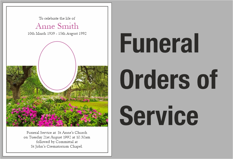 Funeral Orders of Service